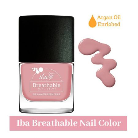 Iba Halal Care Breathable Nail Color, B02 Aqua Swirl, 9ml