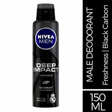 Nivea Men Deep Impact Freshness Deodorant, 150ml
