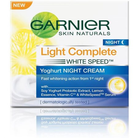 Garnier Skin Naturals, Light Complete Night Cream,40g