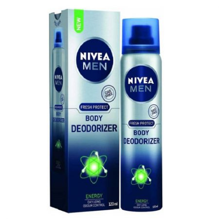Nivea Men Fresh Protect Body Deodorizer Energy, 120ml