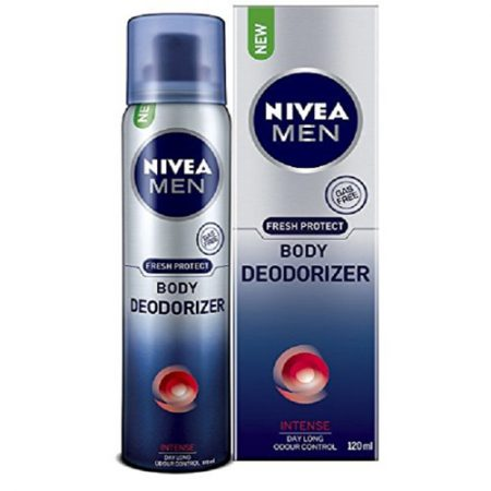 Nivea Men Fresh Protect Body Deodorizer Intense, 120ml