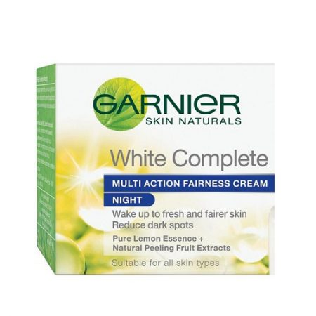 Garnier white complete multi action fairness cream 18g