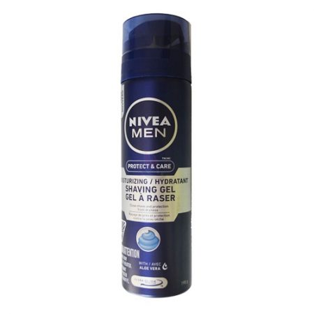 Nivea Men Protect and Care Moisturizing / Hydratant shaving Gel, 198g