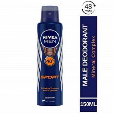 Nivea Men Sport Deodorant, 150ml