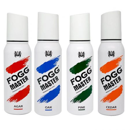 Fogg Master (Combo Pack) Body Spray For Men- 120ml