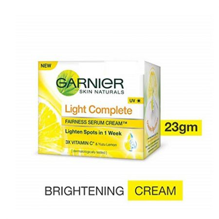 Garnier Light Complete Fairness Serum Cream- 23g