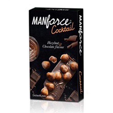 Buy – Manforce Cocktail Hazelnut & Chocolate Flavoured Condoms 10's