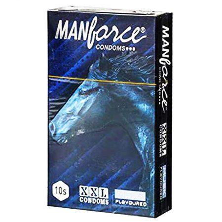 Manforce XXL Musk Flavoured Ribbed with ...
