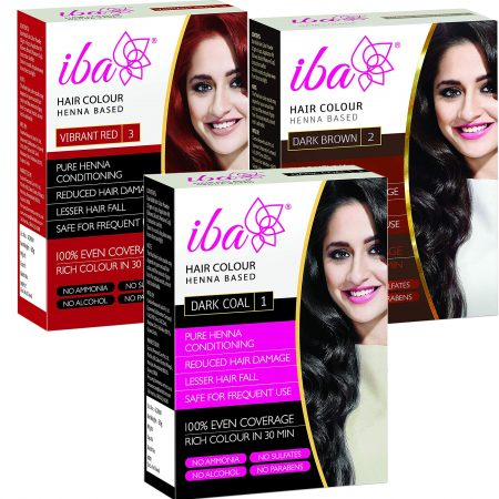 Iba Halal Care Hair Color Combo Pack (Pack of 3) 180g