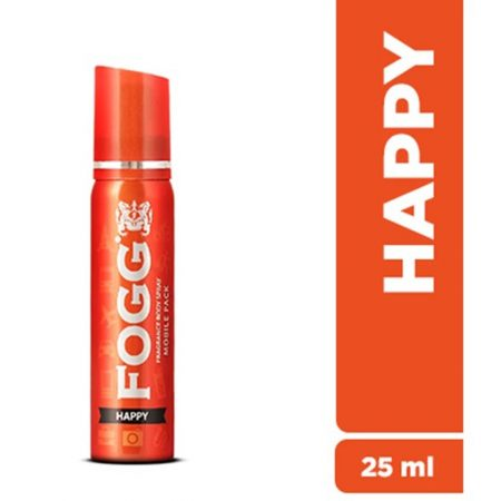 Fogg Happy Mobile Pack Deo 25ml Deodorant Spray – For Men & Women