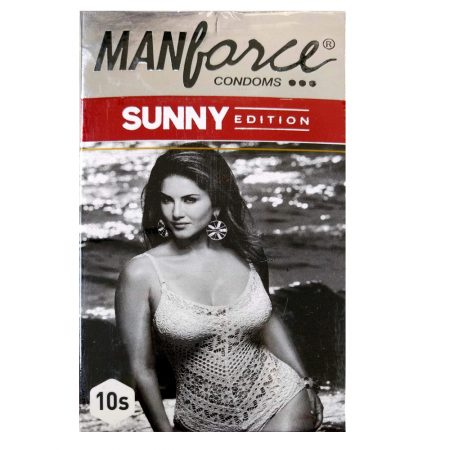 Buy – Manforce Sunny 3 In 1 Condoms – 10 Pieces