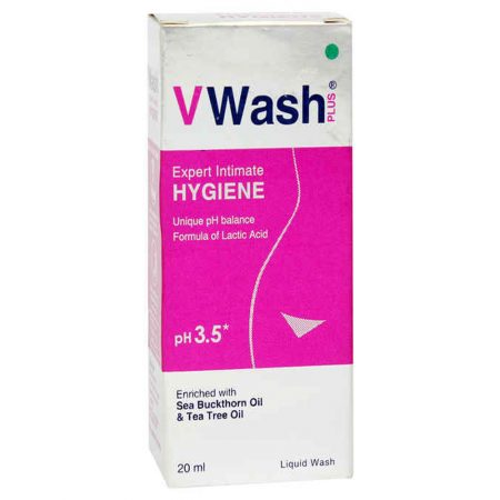 VWash Plus Intimate Hygiene Wash – 20 ml