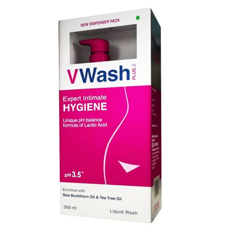 VWash Plus Intimate Hygiene Wash – 350 ml