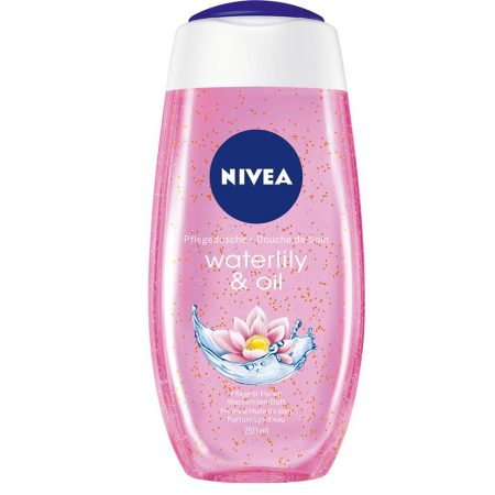 Buy - NIVEA Shower Gel, Water Lily & Oil Body Wash, Women, 250ml