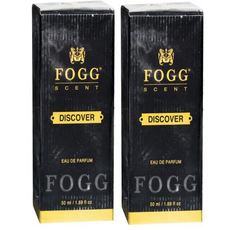 Fogg Scent Discover EDP Perfume Pack of 2 (50ML each) 100ML Eau de Parfum – 100 ml  (For Men)