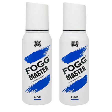 Fogg Master OAK Body Spray For Men, 120ml (Pack of 2)