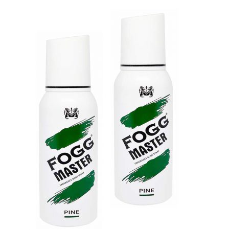 Fogg Master PINE Body Spray For Men, 120ml (Pack of 2)