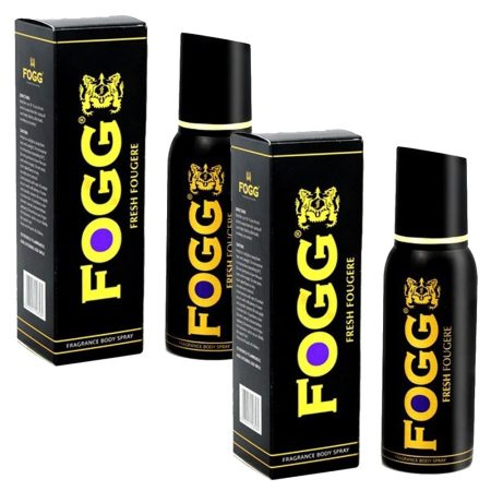 Buy – Fogg Fresh FOUGERE Deodorant Spray– 120ml (Pack of 2)