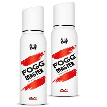 Fogg Master AGAR Body Spray For Men, 120ml (Pack of 2)
