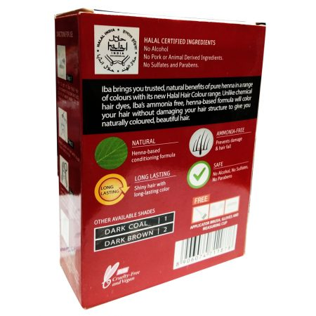 Iba Halal Care Hair Color, Vibrant Red, 60g