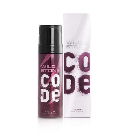Wild Stone CODE Iridium Body Perfume, 120ml