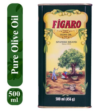 Figaro Spanish Brand Olive Oil Tin  (500 ml)