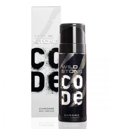 Wild Stone Code Chrome Body Perfume, 120ml