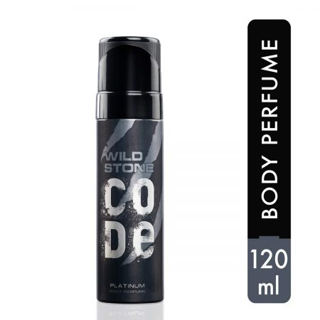 Wild Stone Code Platinum Body Perfume Spray 120ml
