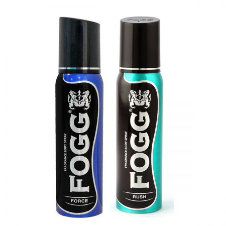 Fogg FORCE & RUSH Fragrance Body Spray 120ml  (Pack of 2)