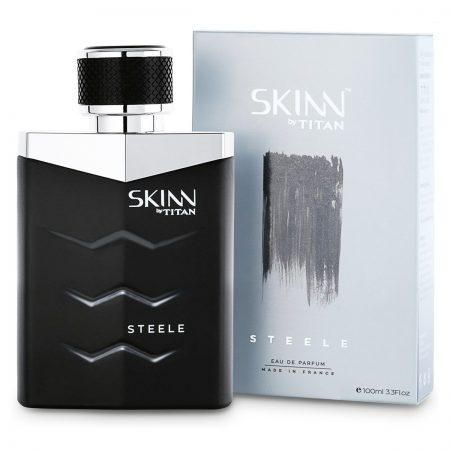 Skinn STEELE Eau De Parfum For Men, 100ml