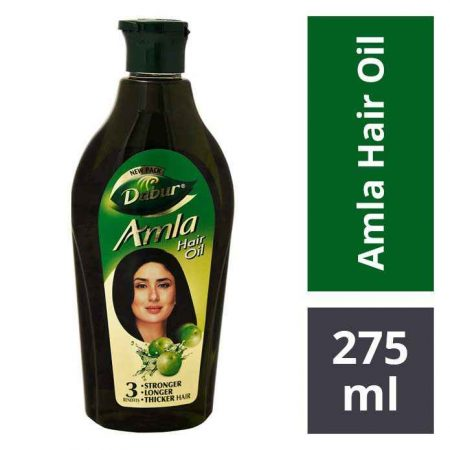 Dabur Amla Hair Oil, For Strong Long and Thick Hair 275ml