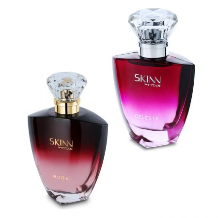 Skinn NUDE & CELESTE Eau De Parfum 50ml (Pack of 2)