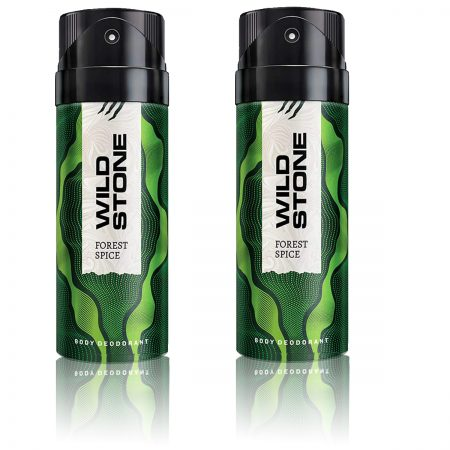 Wild Stone Forest Spice Body Deodorant 150ml Pack of 2