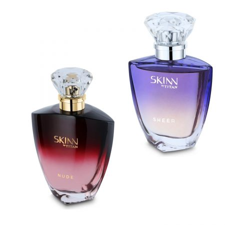 Skinn SHEER & NUDE Eau De Parfum 50ml (Pack of 2)