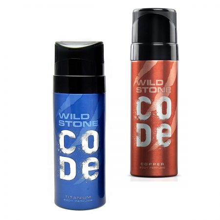 Wild Stone Copper & Titanum Deodorant 120ml (Pack of 2)