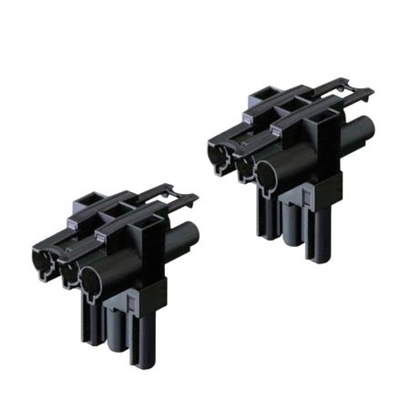 3 Pole GST Distributor with 1 Input and 2 Output (pack of 2)
