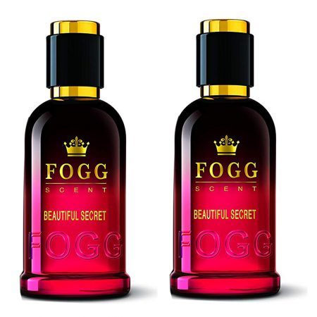 Fogg Scent BEAUTIFUL SECRET Eau de Parfum – 100ml (Pack of 2)