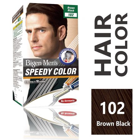 Bigen 102 Hair Color Brown Black
