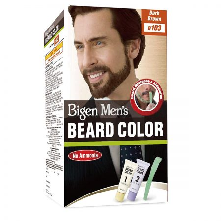 Bigen Beard Colour Dark Brown 103 Hair Color Dark Brown