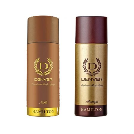 Denver PRESTIGE & NOBLE Body Spray (Pack of 2)
