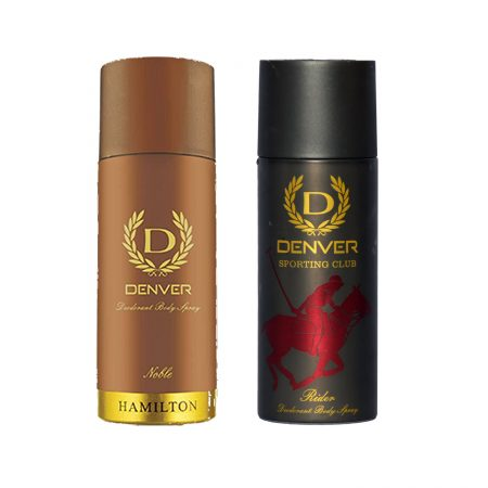 Denver RIDER & NOBLE Body Spray (Pack of 2)
