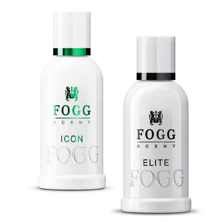 Fogg Scent ICON & ELITE Eau De Parfum, 100ml (Pack of 2)