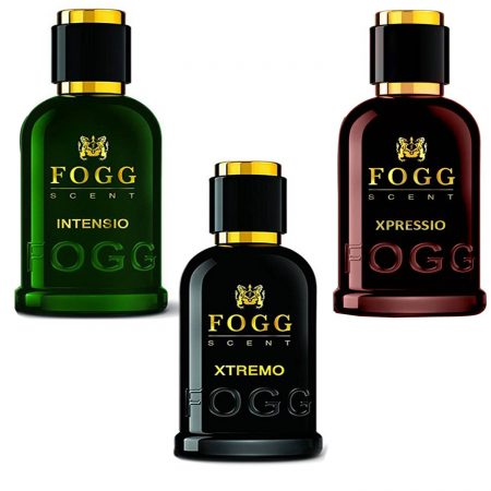 Fogg Xpressio, Intensio & Xtremo Eau de Parfum 100ml (Pack of 3)
