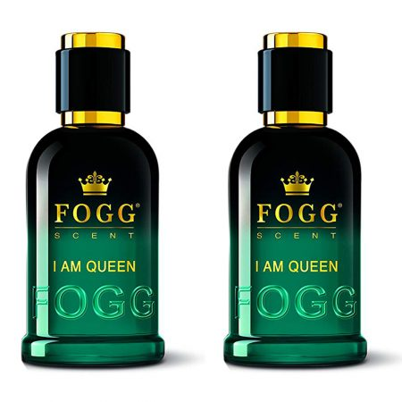 Fogg Scent I AM QUEEN Eau de Parfum 100 ml (Pack of 2)