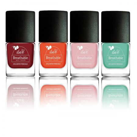 IBA Halal Care Breathable Nail Color 9ml (Combo) pack of 4
