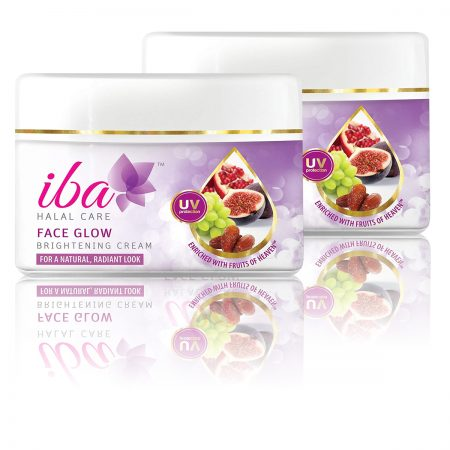Iba Halal Face Glow Brightening Cream 50gm (Pack of 2)