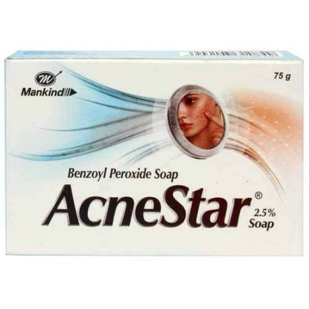 Mankind Acnestar Soap & Removal Gel (pack of 6)
