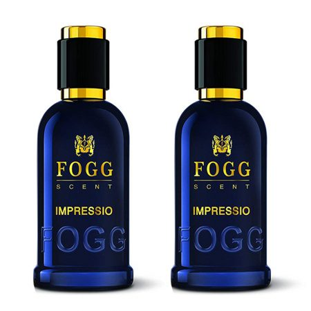 Fogg Scent IMPRESSIO Eau de Parfum – 100 ml (pack of 2)