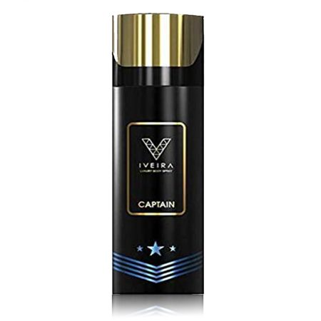 IVEIRA Captain Deodorant Spray – For Men (165ml)