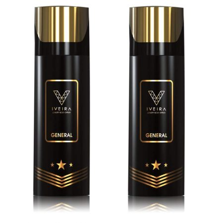 IVEIRA General Deodorant Spray 165ml (Pack of 2)